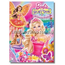 BARBIE And The Secret Door: A Colouring Storybook (includes Stickers and Self Inking Stamp)