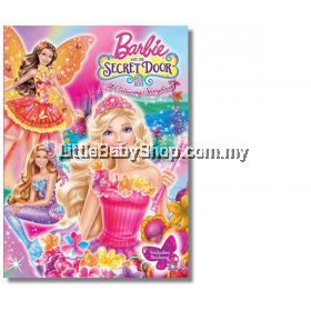 Barbie And The Secret Door: A Colouring Storybook (with Self Inking Stamp)