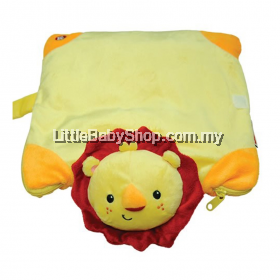 Fisher Price 3-in-1 Plush Blanket: Lion 13 Inches