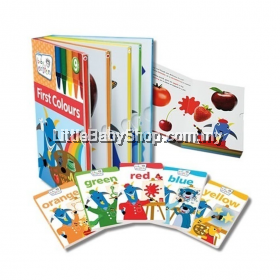 Baby Einstein: First Colours Sleeve Book Set (6 Books in 1)