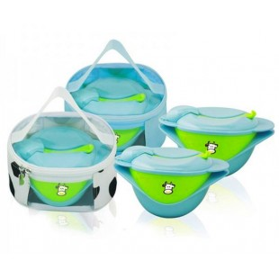 Feeding Bowl, Plate, Fork & Spoon & Accs
