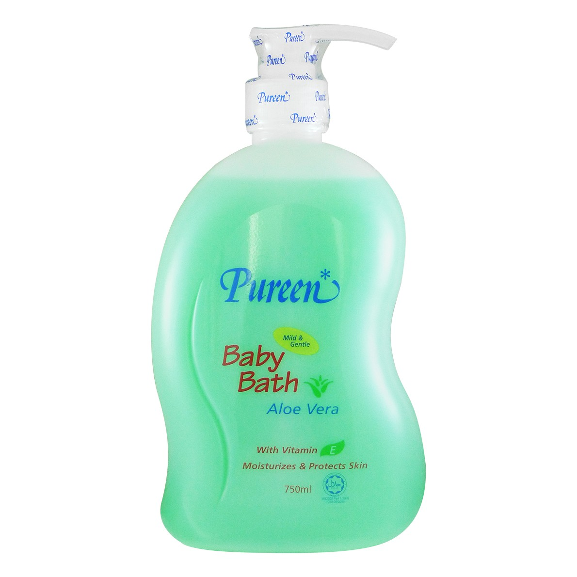 pureen aloe vera baby bath 750ml l little baby shop my online store malaysia. Black Bedroom Furniture Sets. Home Design Ideas